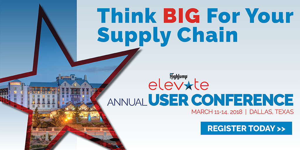 Elevate 2018: Think big for your supply chain