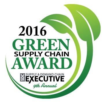 SDCE Green Supply Chain Award 2016