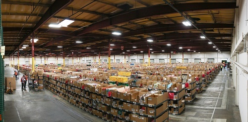 Hyper-efficient warehouse workflows support their retail peak season