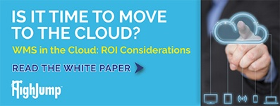 HighJump WMS in The Cloud - ROI Considerations