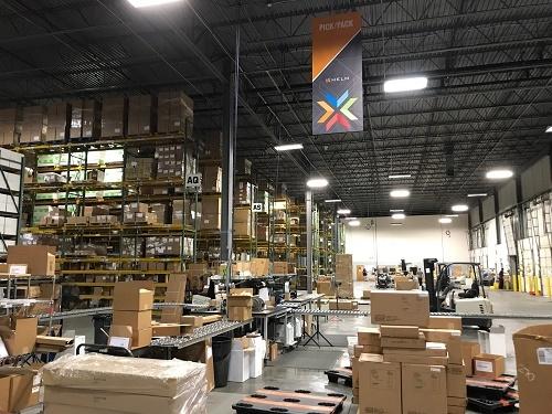 Flexible warehouse management system